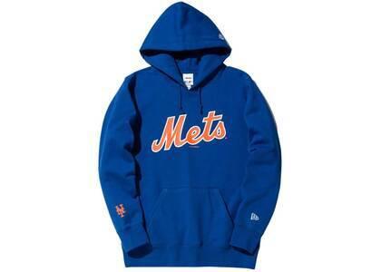 AWAKE NY × New Era New York Mets Subway Series Hoodie Blueの写真