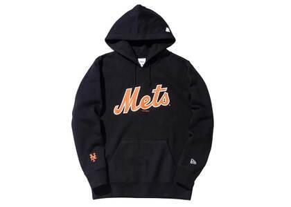 AWAKE NY × New Era New York Mets Subway Series Hoodie Blackの写真