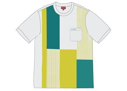 Supreme Patchwork Pocket Tee Whiteの写真