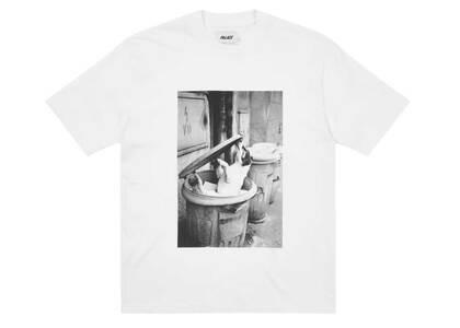 Palace × Juergen Teller 1 T Shirt White (SS21)の写真
