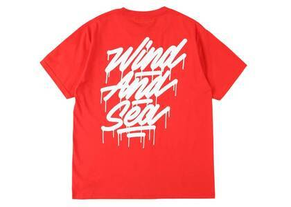 It's A Living × Wind And Sea Tagging Tee Redの写真