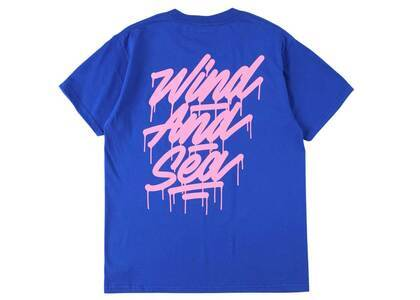 It's A Living × Wind And Sea Tagging Tee Blueの写真