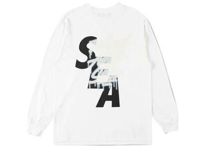 It's A Living × Wind And Sea LS Tee Whiteの写真