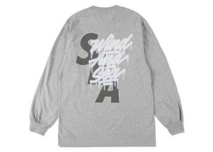 It's A Living × Wind And Sea LS Tee Grayの写真