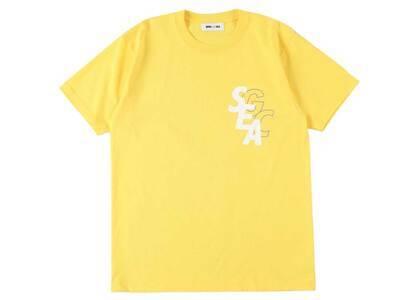 GRACECHOW × Wind And Sea Circle Tee Yellowの写真