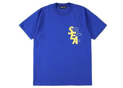 GRACECHOW × Wind And Sea Circle Tee Blueの写真