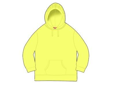 Supreme Overdyed Hooded Sweatshirt (SS20) Bright Yellowの写真