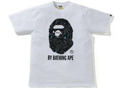 Bape Space Camo by Bathing Ape Tee White (SS21)の写真