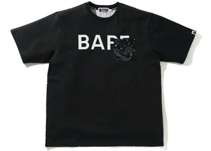 Bape Space Camo Relaxed Fit Pocket Tee Black (SS21)の写真