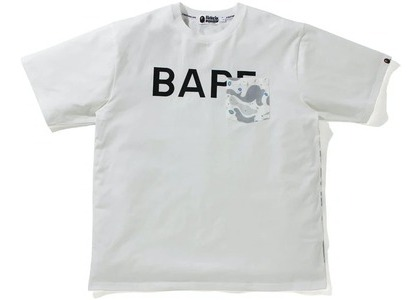 Bape Space Camo Relaxed Fit Pocket Tee White (SS21)の写真