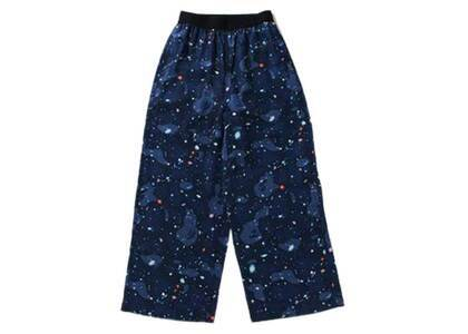 Bape Space Camo Pants Navy Womens (SS21)の写真