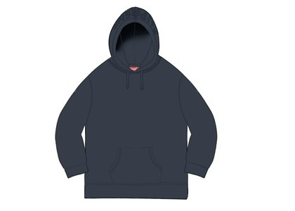 Supreme Overdyed Hooded Sweatshirt (SS20) Navyの写真