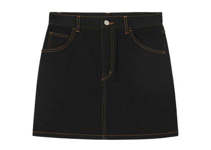X-girl Basic Mini Skirt Blackの写真