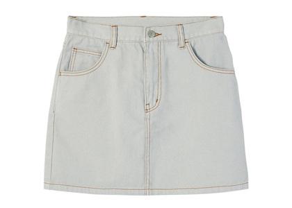 X-girl Basic Mini Skirt Light grayの写真