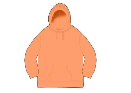 Supreme Overdyed Hooded Sweatshirt (SS20) Bright Peachの写真