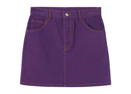 X-girl Basic Mini Skirt Purpleの写真