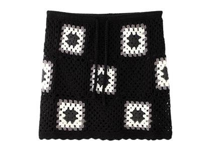 X-girl Crochet Skirt Blackの写真