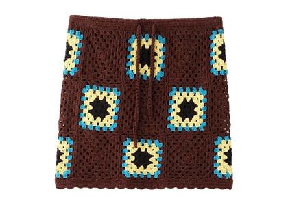 X-girl Crochet Skirt Brownの写真