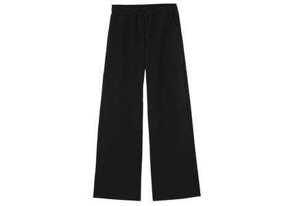 X-girl Multi Pattern Easy Straight Pants Black 105215031012の写真