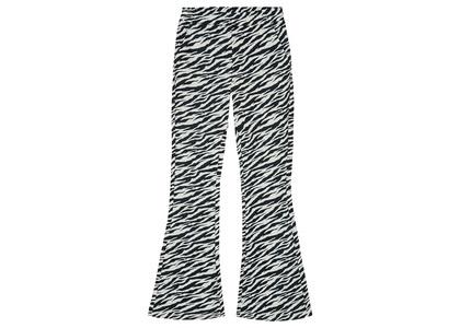 X-girl Multi Pattern Easy Flare Pants Zebra 105215031010の写真