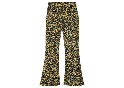 X-girl Multi Pattern Easy Flare Pants Beige 105215031010の写真