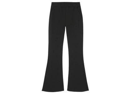 X-girl Multi Pattern Easy Flare Pants Black 105215031010の写真