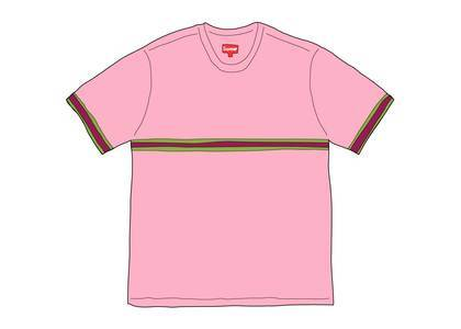 Supreme Knit Stripe S-S Top (SS20) Pinkの写真