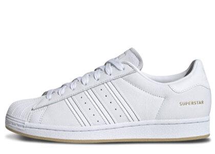 adidas Superstar White/Gumの写真