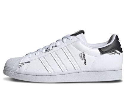 adidas Superstar Whiteの写真