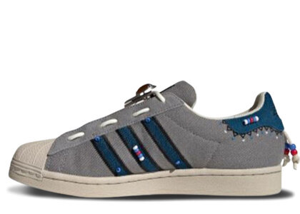 adidas Superster Laceless Greyの写真