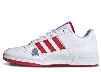 adidas Forum Low White/Redの写真