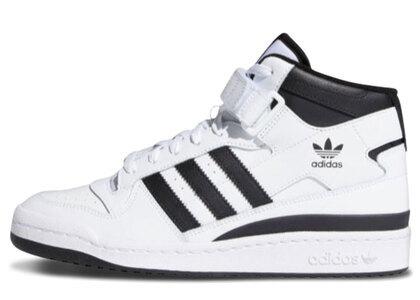 adidas Forum Mid White/Blackの写真