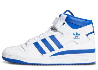 adidas Forum Mid White/Blueの写真