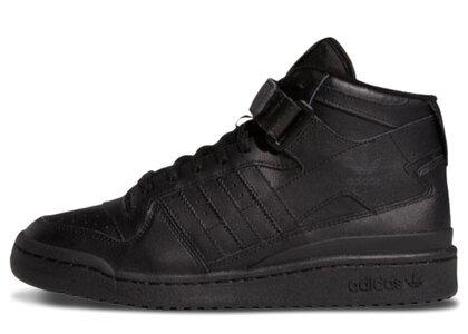 adidas Forum Mid Blackの写真