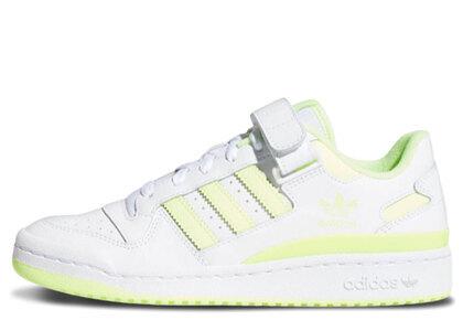adidas Forum Low White/Yellowの写真
