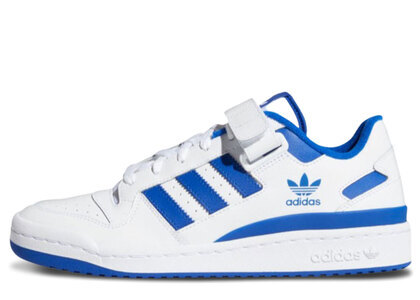 adidas Forum Low White/Blueの写真