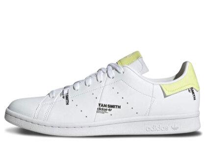adidas Stan Smith White/Yellowの写真