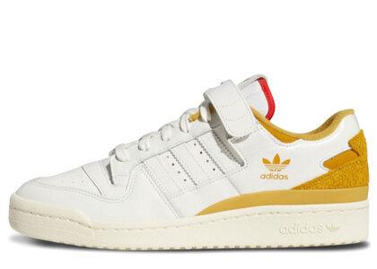 adidas Forum 84 Low White/Yellow の写真