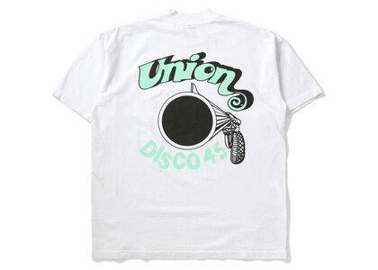UNION Original Disco 45 Tee White / Greenの写真