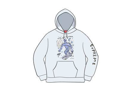 Supreme Daniel Johnston Hooded Sweatshirt Ash Greyの写真