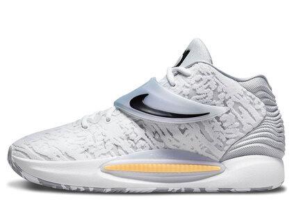 Nike KD14 EP White/Wolf Greyの写真