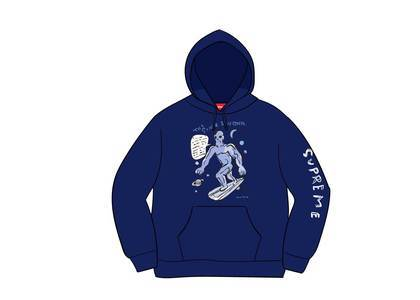 Supreme Daniel Johnston Hooded Sweatshirt Dark Royalの写真