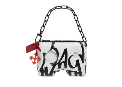 Off-White Katsu Burrow-15 Pouch Bag Whiteの写真