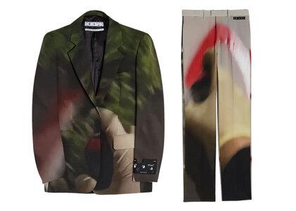 Off-White Katsu Formal Suit Brown / Redの写真