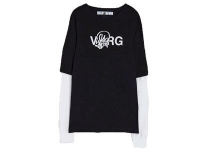 Off-White Katsu Double Sleeved T-Shirt Blackの写真