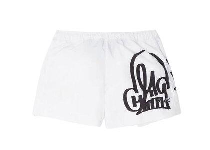 Off-White Katsu Graffiti Swimshorts Whiteの写真