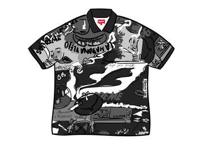Supreme Filtre Polo Blackの写真