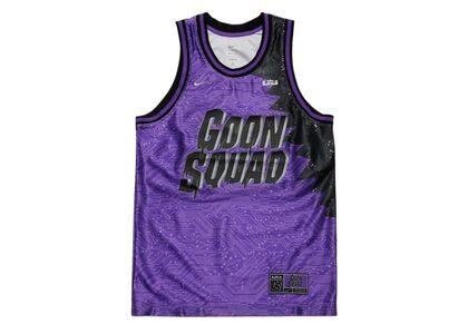 Space Jam / Space Players × Nike Lebron Goon Squad Dri-FIT Jersey Purpleの写真