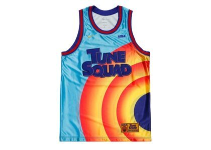 Space Jam / Space Players × Nike Lebron Tune Squad Dri-FIT Jersey Light Blueの写真