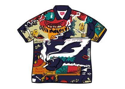 Supreme Filtre Polo Multicolorの写真